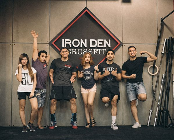 Iron Den Crossfit Trainer in Alabang Las Pinas Manila Philippines